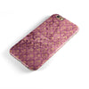Grungy Burgundy Royal Pattern iPhone 6/6s or 6/6s Plus 2-Piece Hybrid INK-Fuzed Case