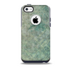 Grungy Green Painted Fabric Skin for the iPhone 5c OtterBox Commuter Case