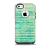 Grungy Horizontal Green Lines Skin for the iPhone 5c OtterBox Commuter Case