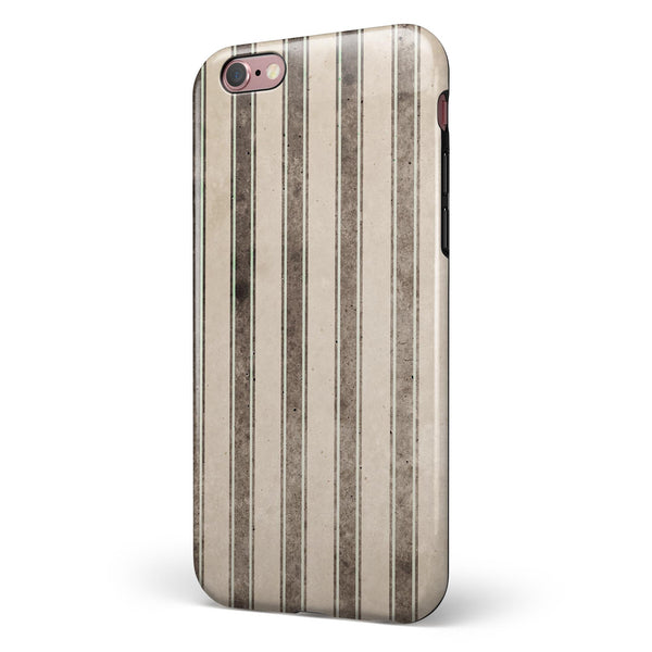 Grungy Motel Wallpaper iPhone 6/6s or 6/6s Plus 2-Piece Hybrid INK-Fuzed Case