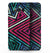 Grungy Neon Triangular Zig Zag Shapes - Samsung Galaxy S8 Full-Body Skin Kit