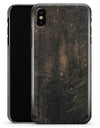 Grungy Scratched Woodgrain Surface - iPhone X Clipit Case