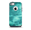 Grungy Teal Chipped Concrete Skin for the iPhone 5c OtterBox Commuter Case