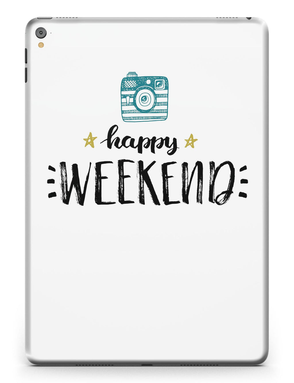 Happy Weekend Full Body Skin for the iPad Pro (12.9 or 9