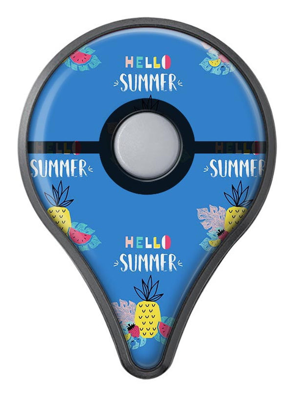 Hello Summer Love v1 Pokémon GO Plus Vinyl Protective Decal Skin Kit