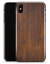 Horizontal Rich Woodrgrain - iPhone X Clipit Case