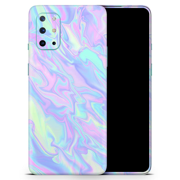 Iridescent Dahlia v1 - Full Body Skin Decal Wrap Kit for OnePlus Phones