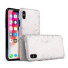 Karamfila Silver & Pink Marble V15 - iPhone X Swappable Hybrid Case