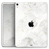 "Karamfila Watercolor & Gold V6 - Full Body Skin Decal for the Apple iPad Pro 12.9"", 11"", 10.5"", 9.7"", Air or Mini (All Models Available)"