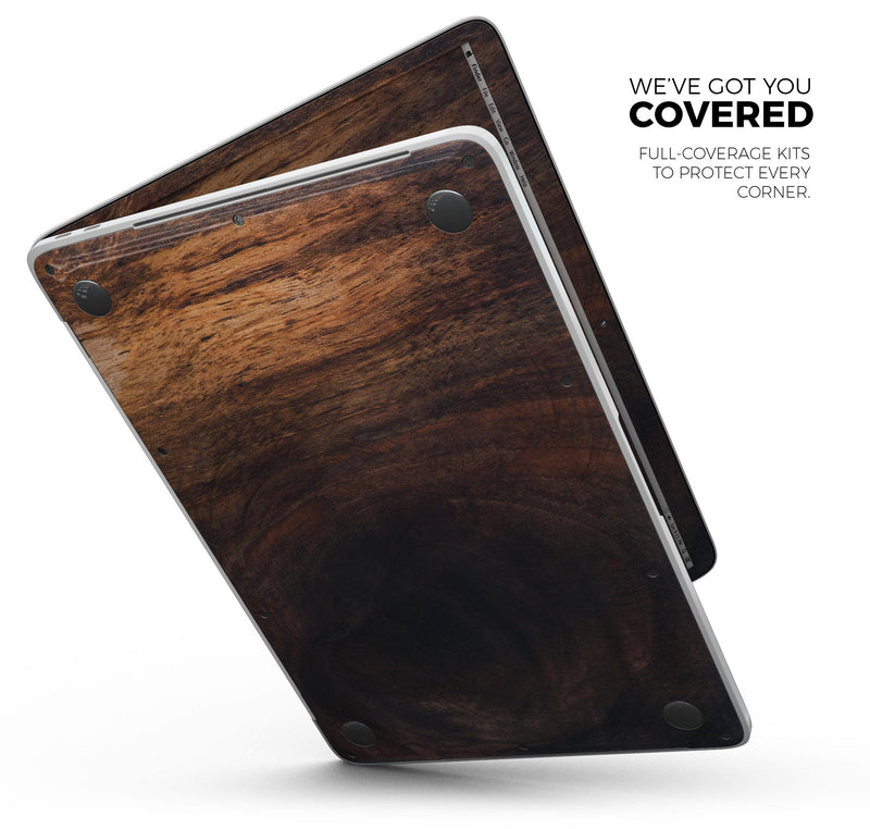 "Knotted Rich Wood Plank - Skin Decal Wrap Kit Compatible with the Apple MacBook Pro, Pro with Touch Bar or Air (11"", 12"", 13"", 15"" & 16"" - All Versions Available)"