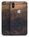 Knotted Rich Wood Plank - iPhone X Skin-Kit