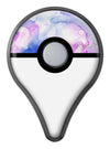 Light Blue 3123 Absorbed Watercolor Texture Pokémon GO Plus Vinyl Protective Decal Skin Kit