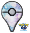 Light Blue 3 Absorbed Watercolor Texture Pokémon GO Plus Vinyl Protective Decal Skin Kit