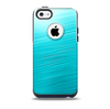 Light Blue Slanted Streaks Skin for the iPhone 5c OtterBox Commuter Case