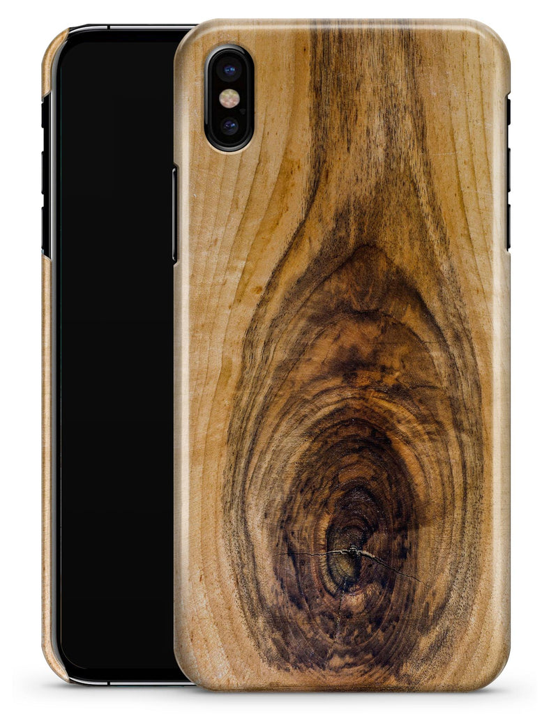 Light Knotted Woodgrain - iPhone X Clipit Case