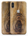Light Knotted Woodgrain - iPhone X Skin-Kit