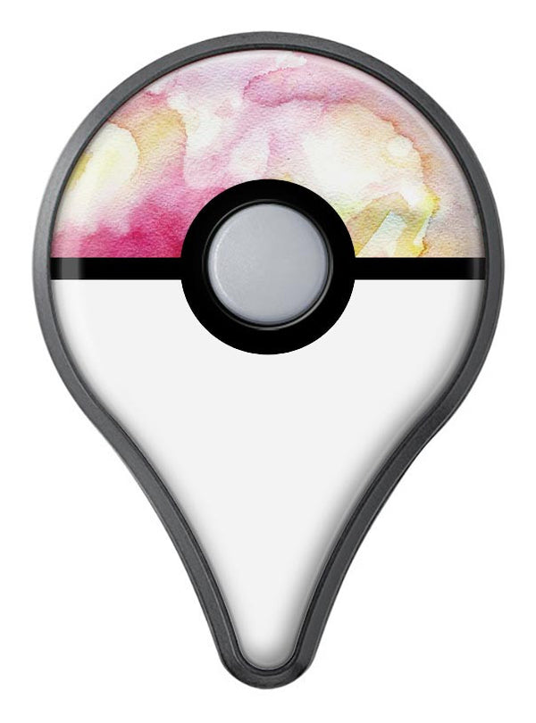 Light Pink 33 Absorbed Watercolor Texture Pokémon GO Plus Vinyl Protective Decal Skin Kit