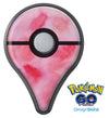 Light Pink 3 Absorbed Watercolor Texture Pokémon GO Plus Vinyl Protective Decal Skin Kit