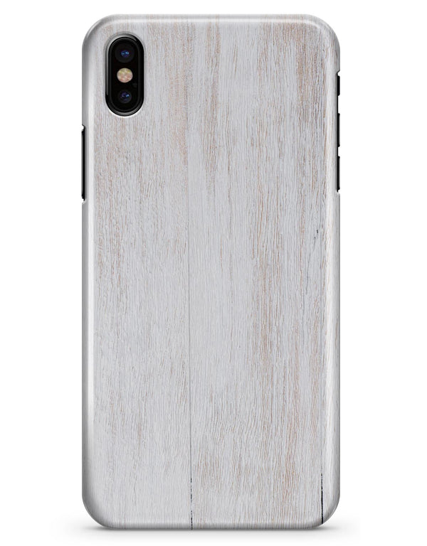 Light White Wood Planks - iPhone X Clipit Case