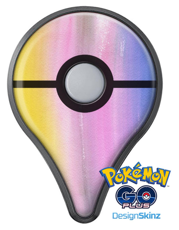 Lined 443 Absorbed Watercolor Texture Pokémon GO Plus Vinyl Protective Decal Skin Kit