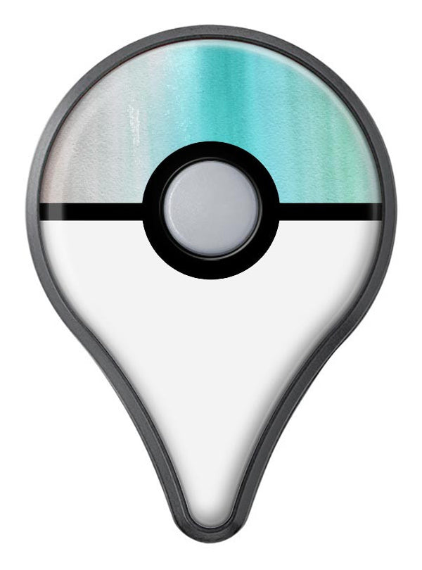 Lined Mint 9672 Absorbed Watercolor Texture Pokémon GO Plus Vinyl Protective Decal Skin Kit