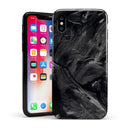 Liquid Abstract Paint Remix V14 - iPhone X Swappable Hybrid Case