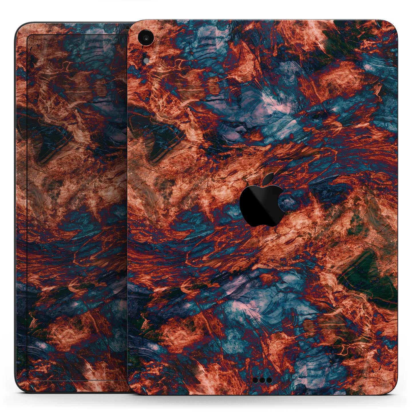 "Liquid Abstract Paint Remix V81 - Full Body Skin Decal for the Apple iPad Pro 12.9"", 11"", 10.5"", 9.7"", Air or Mini (All Models Available)"
