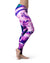 Liquid Abstract Paint V37 - All Over Print Womens Leggings / Yoga or Workout Pants