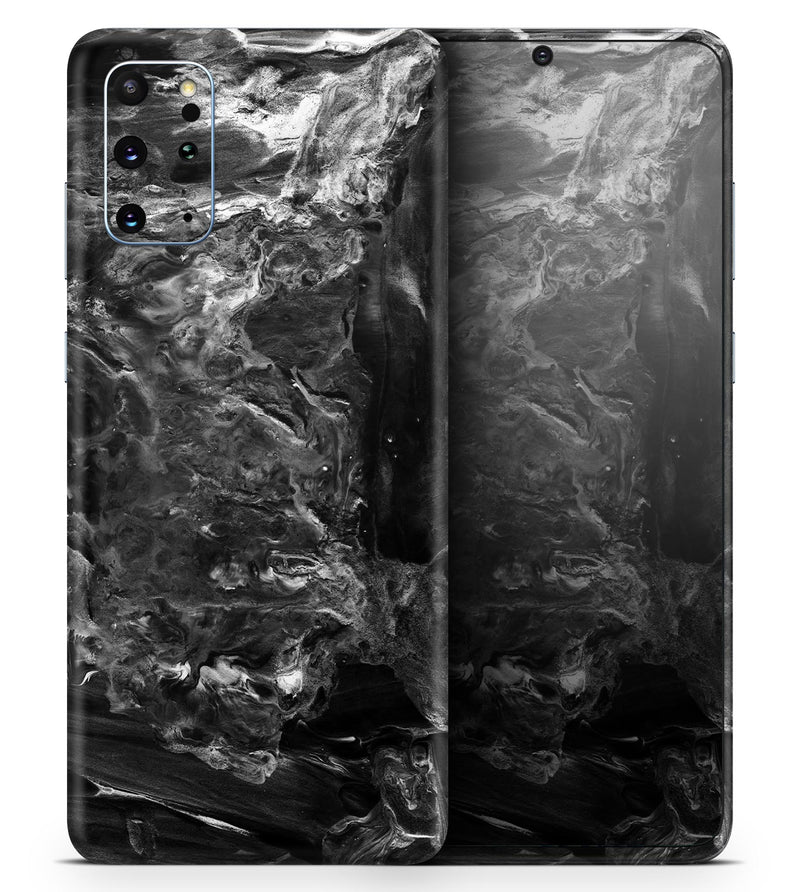 Liquid Abstract Paint V54 - Skin-Kit for the Samsung Galaxy S-Series S20, S20 Plus, S20 Ultra , S10 & others (All Galaxy Devices Available)