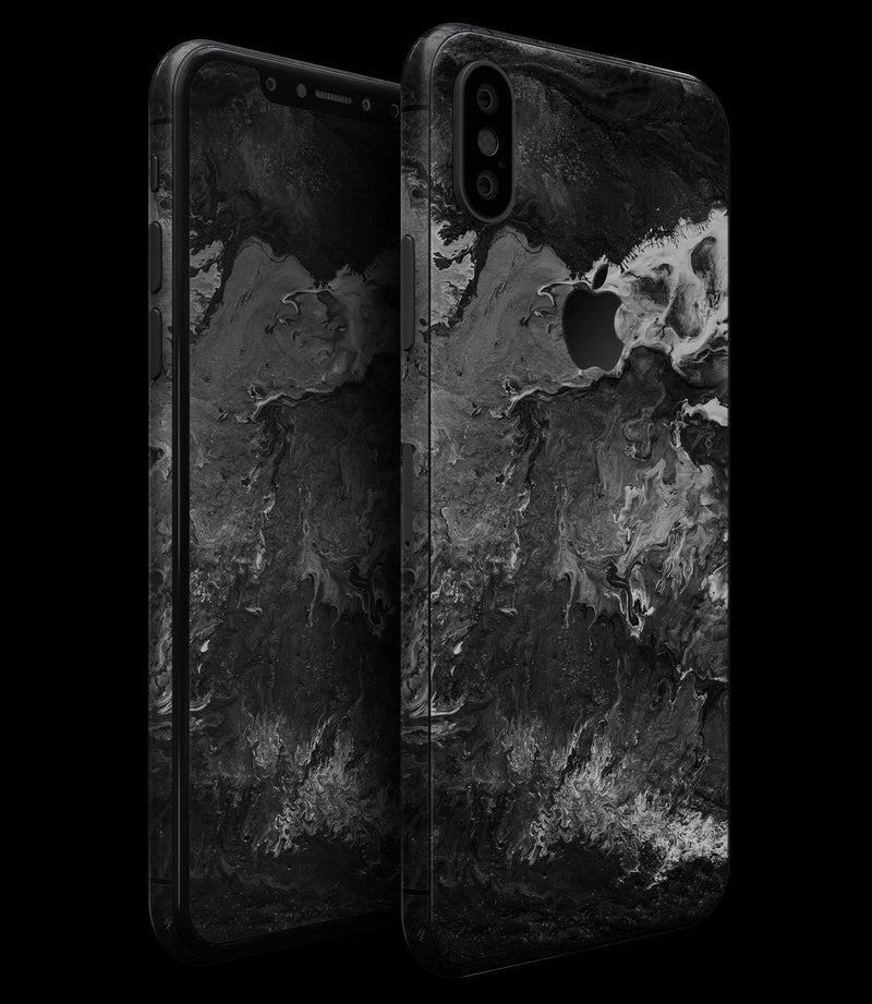 Liquid Abstract Paint V56 - iPhone XS MAX, XS/X, 8/8+, 7/7+, 5/5S/SE Skin-Kit (All iPhones Available)
