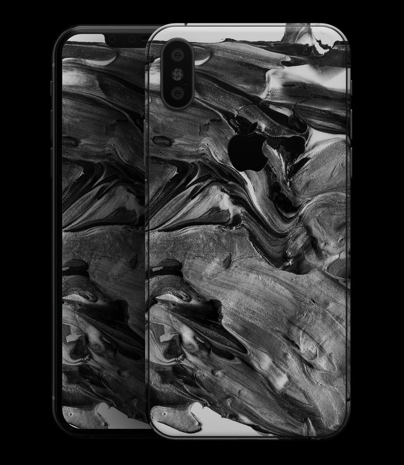 Liquid Abstract Paint V57 - iPhone XS MAX, XS/X, 8/8+, 7/7+, 5/5S/SE Skin-Kit (All iPhones Available)