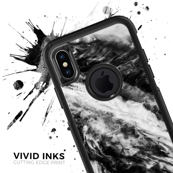 Liquid Abstract Paint V58 - Skin Kit for the iPhone OtterBox Cases