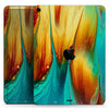 "Liquid Abstract Paint V60 - Full Body Skin Decal for the Apple iPad Pro 12.9"", 11"", 10.5"", 9.7"", Air or Mini (All Models Available)"