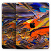 "Liquid Abstract Paint V63 - Full Body Skin Decal for the Apple iPad Pro 12.9"", 11"", 10.5"", 9.7"", Air or Mini (All Models Available)"