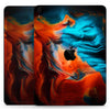 "Liquid Abstract Paint V64 - Full Body Skin Decal for the Apple iPad Pro 12.9"", 11"", 10.5"", 9.7"", Air or Mini (All Models Available)"
