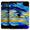 "Liquid Abstract Paint V65 - Full Body Skin Decal for the Apple iPad Pro 12.9"", 11"", 10.5"", 9.7"", Air or Mini (All Models Available)"