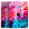 "Liquid Abstract Paint V66 - Full Body Skin Decal for the Apple iPad Pro 12.9"", 11"", 10.5"", 9.7"", Air or Mini (All Models Available)"