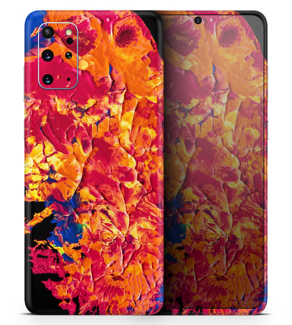 Liquid Abstract Paint V6 - Skin-Kit for the Samsung Galaxy S-Series S20, S20 Plus, S20 Ultra , S10 & others (All Galaxy Devices Available)