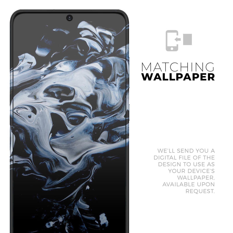 Liquid Abstract Paint V77 - Skin-Kit for the Samsung Galaxy S-Series S20, S20 Plus, S20 Ultra , S10 & others (All Galaxy Devices Available)