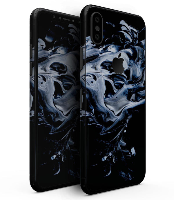 Liquid Abstract Paint V77 - iPhone XS MAX, XS/X, 8/8+, 7/7+, 5/5S/SE Skin-Kit (All iPhones Available)