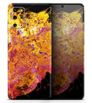 Liquid Abstract Paint V7 - Skin-Kit for the Samsung Galaxy S-Series S20, S20 Plus, S20 Ultra , S10 & others (All Galaxy Devices Available)