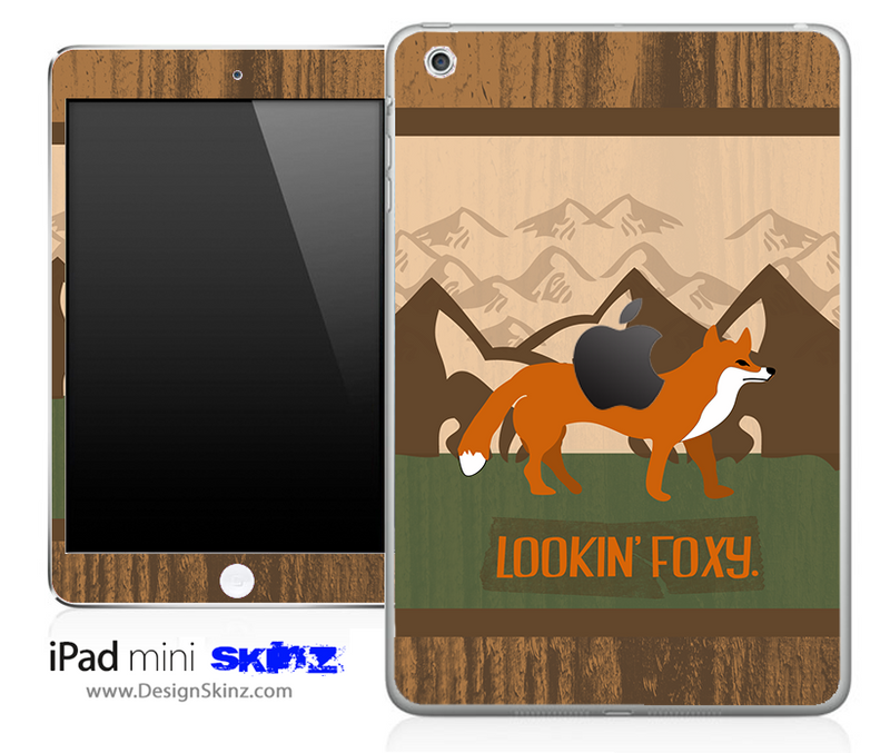 Lookin Foxy iPad Skin By Lauren Pyles