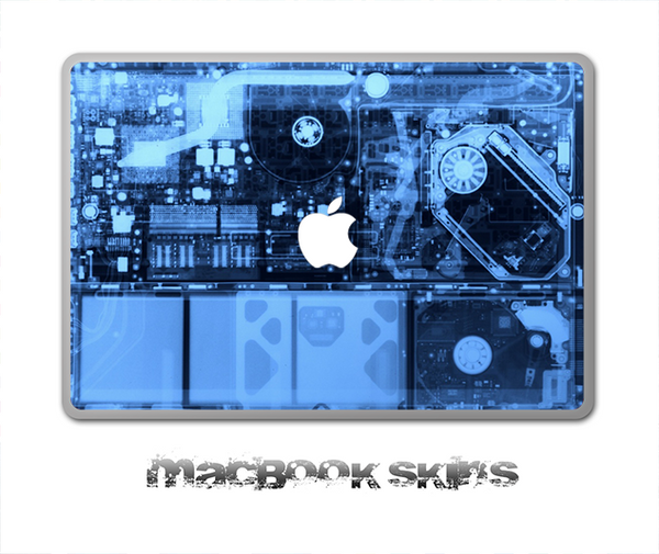 X-Ray Skin for the 11, 13 or 15 inch MacBook
