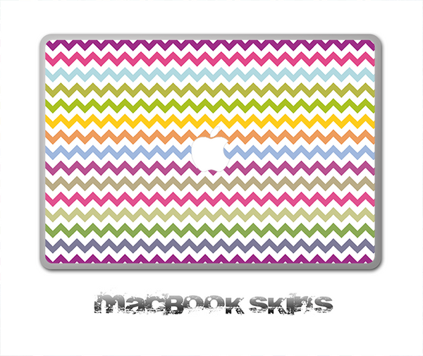 Colorful Chevron V2 Skin for the 11, 13 or 15 inch MacBook