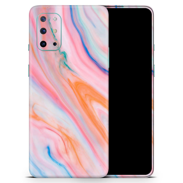 Magical Coral Marble V5 - Full Body Skin Decal Wrap Kit for OnePlus Phones