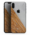 Marble & Wood Mix V2 - iPhone XS MAX, XS/X, 8/8+, 7/7+, 5/5S/SE Skin-Kit (All iPhones Available)
