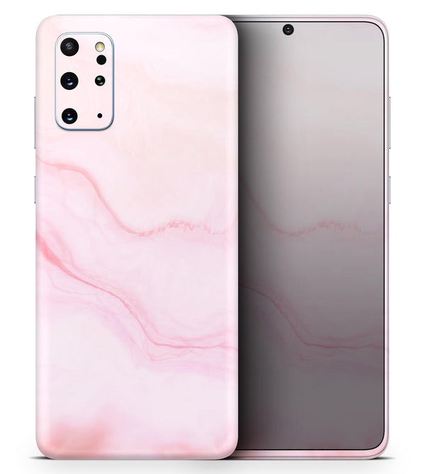 Marble Surface V1 Pink - Skin-Kit for the Samsung Galaxy S-Series S20, S20 Plus, S20 Ultra , S10 & others (All Galaxy Devices Available)
