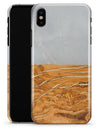 Marble & Wood Mix V1 - iPhone X Clipit Case