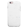 Marbleized Light Gray iPhone 6/6s or 6/6s Plus 2-Piece Hybrid INK-Fuzed Case