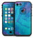 Marbleized Ocean Blue - iPhone 7 LifeProof Fre Case Skin Kit